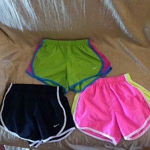 Nike Tempo Shorts and Tylers Youth Medium